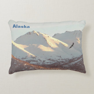 Winter Eagle Accent Pillow