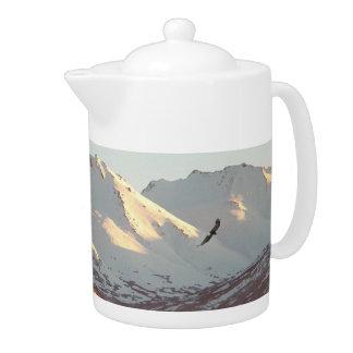 Winter Eagle Teapot