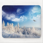 Winter Earth Mouse Pad