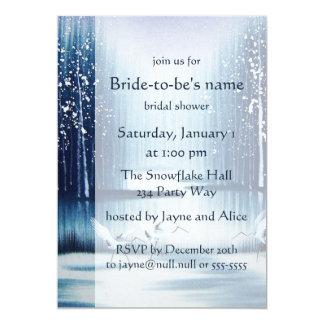 Winter Egrets Bridal Shower Invitation