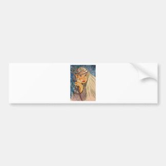 Winter Elf Bumper Sticker