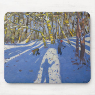 Winter Elvaston Castle 2008 Mouse Pad