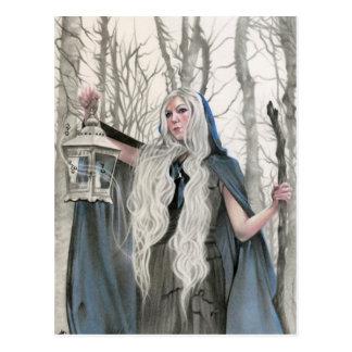 Winter Elve Postcard