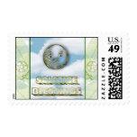 Winter Equinox Yule Postage Stamp