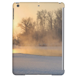 Winter Evening by the Frozen Lake Case For iPad Air