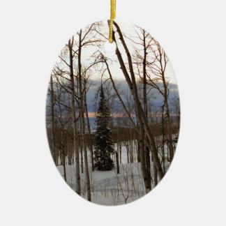 Winter Evening Ornament