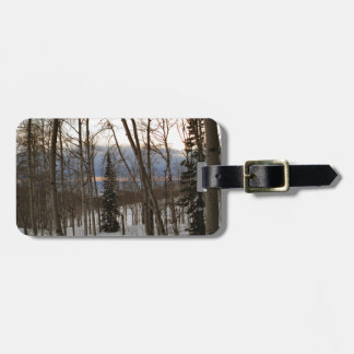 Winter Evening Tags For Bags