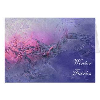 Winter Fairies Card