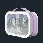 """Winter fairy and unicorn friends Lunch Box<br><div class=""""desc"""">Winter fairy and unicorn friends Lunch Box</div>"""