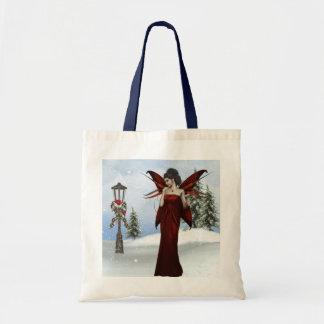 Winter Fairy Budget Tote Bag