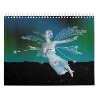 Winter Fairy Calendar
