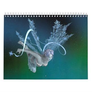Winter Fairy Calendar