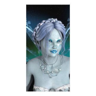 Winter Fairy Card