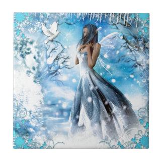 Winter Fairy Ceramic Tile