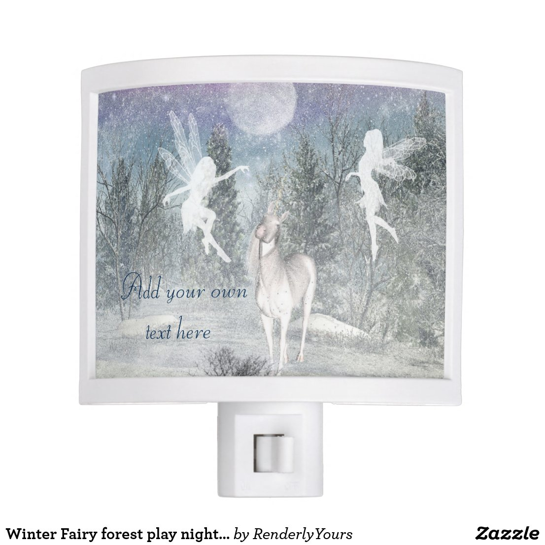 Winter Fairy forest play nightlight