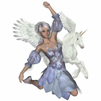 Winter Fairy Jules Unicorn Pegasi Beauty Photo Scu Statuette