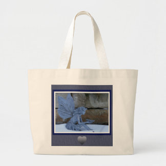 Winter Fairy Large Tote Bag