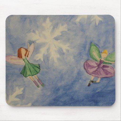 Winter Fairy Mousepad