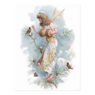 Winter Fairy Postcard