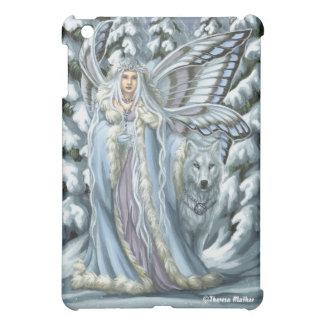 Winter Fairy Wolf iPad Case