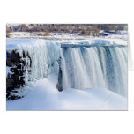 Winter Falls Greeting Card