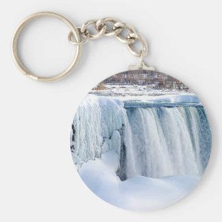 Winter Falls Keychain