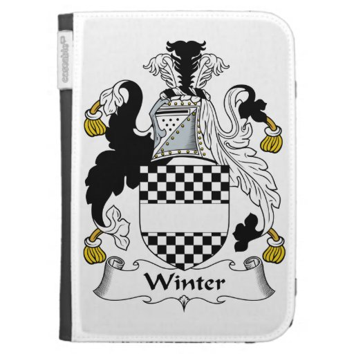 Winter Family Crest Cases For The Kindle