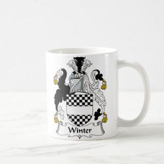 Winter Family Crest Coffee Mug