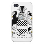 Winter Family Crest iPhone 4 Case