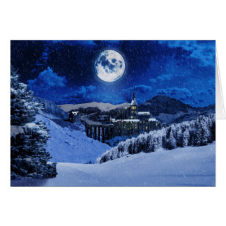 Winter Fantasy Christmas Card