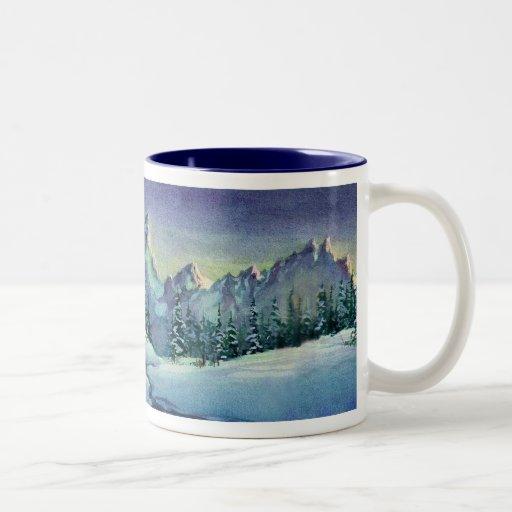 WINTER FARM by SHARON SHARPE Coffee Mug