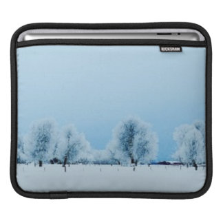 Winter Farm Sleeve For iPads