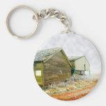 Winter Farm Keychain