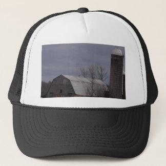 Winter Farm Land Trucker Hat
