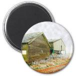 Winter Farm Magnet