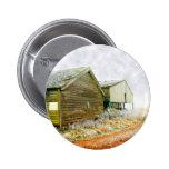 Winter Farm Pinback Button