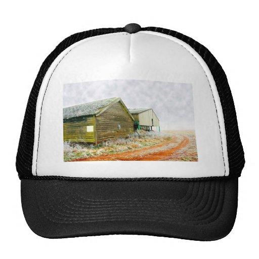 Winter Farm Trucker Hat
