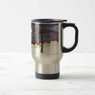 Winter Field Travel Mug