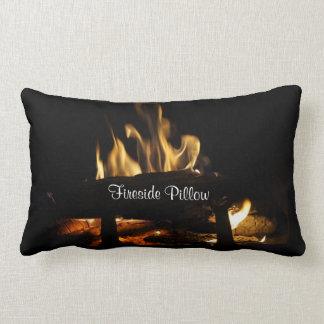 Winter Fireside Pillow