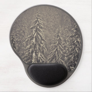 Winter firs gel mouse pad
