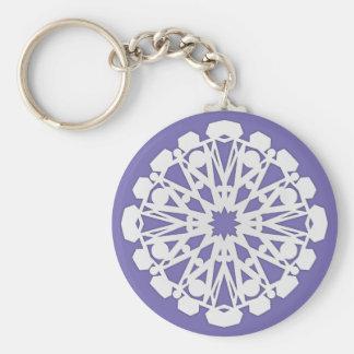 Winter Flake II Keychain