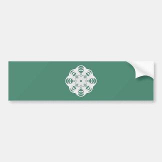 Winter Flake VI Bumper Sticker