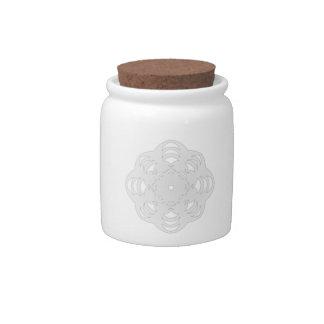Winter Flake VI Candy Jar
