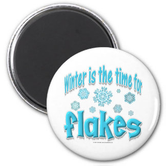 Winter Flakes Magnet