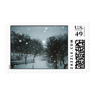 Winter Flakes Stamp