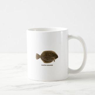 Winter Flounder Classic White Coffee Mug