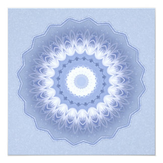 Winter Flower Kaleidoscope Card
