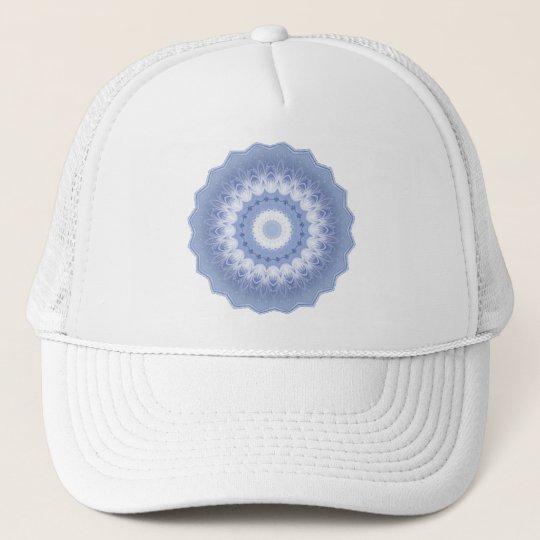 Winter Flower Kaleidoscope Trucker Hat