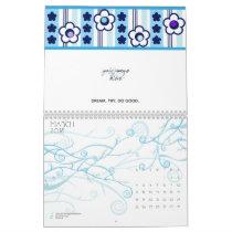 Winter Flowers Calendar