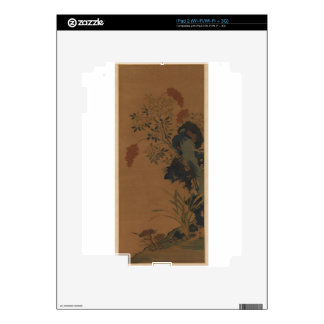 Winter Flowers - Chinese (Ming Dynasty) Decals For The iPad 2